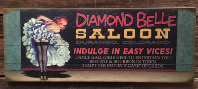 """Indulge in Easy Vices Saloon Girl"" (790)"