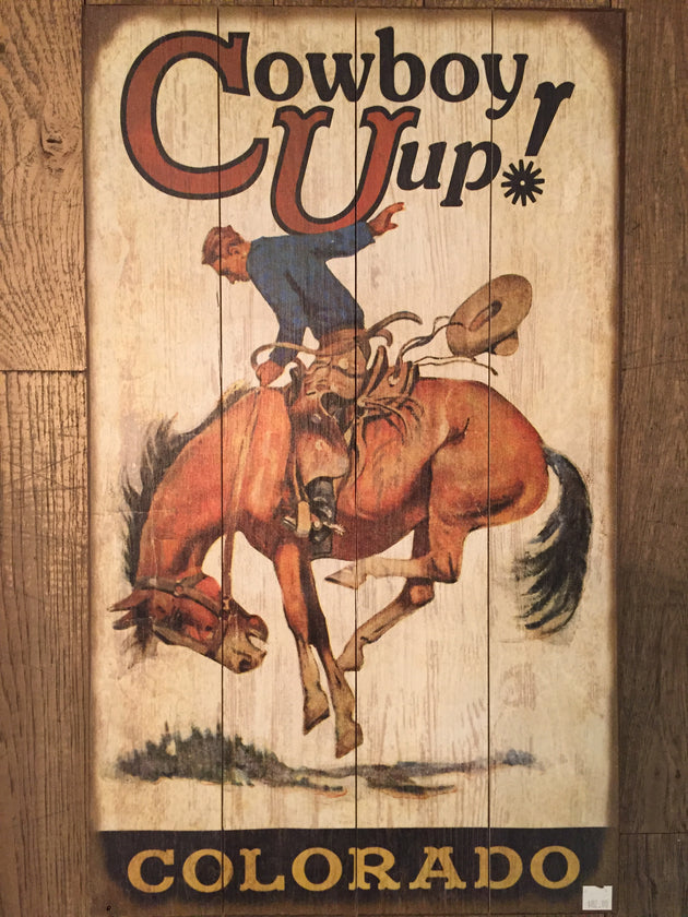 """Cowboy Up"" Bucking Bronco (1929)"