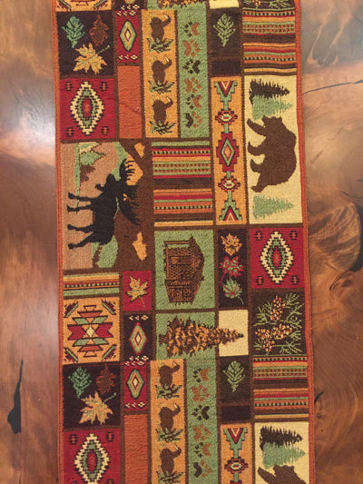 Mountain Living Table Runner (#12075)