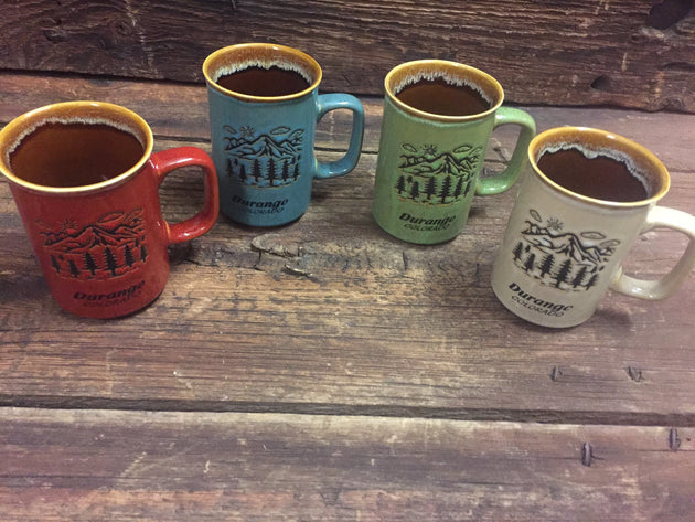 Durango Mountain Ceramic Drip Coffee Mug
