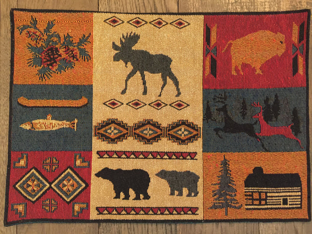 Rustic Lodge Placemat (#11010)