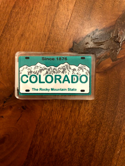 Colorado License Plate Magnet