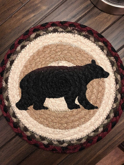 "Cabin Bear 10"" Capitol Earth Mat"