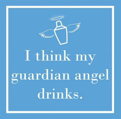 My Guardian Angel (Beverage Napkin)