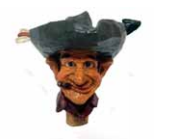 Larry Cowboy Wine Stopper