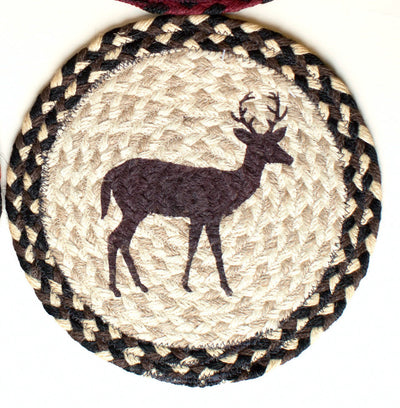 "Little Buck (Deer) 10"" Capitol Earth Mat"
