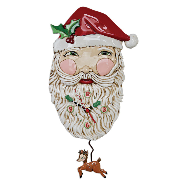 Jolly Santa Clock