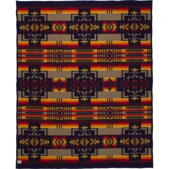 Chief Joseph Indigo Blanket (Robe)