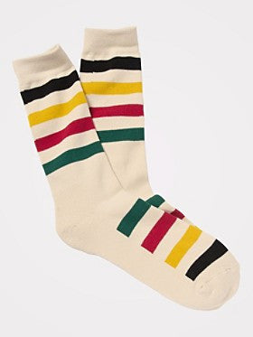 Pendleton Glacier National Park Crew Sock