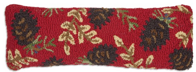 Ruby Cones Wool Pillow
