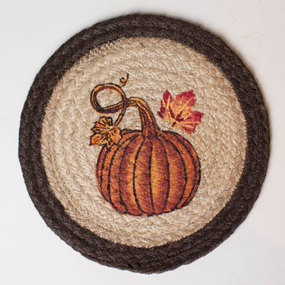 "Pumpkin Autumn 10"" Capitol Earth Mat"