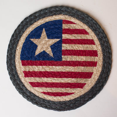 "Original Flag 10"" Capitol Earth Mat"