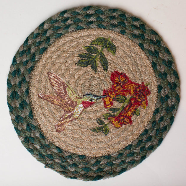 "Humming Bird 10"" Capitol Earth Mat"