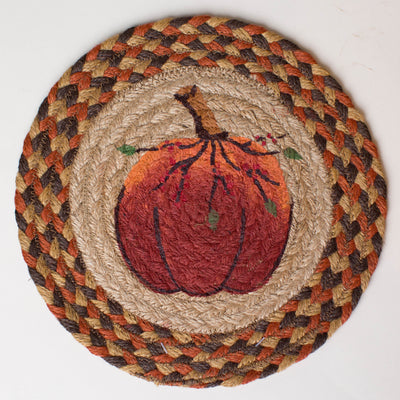 "Harvest Pumpkin 10"" Capitol Earth Mat"