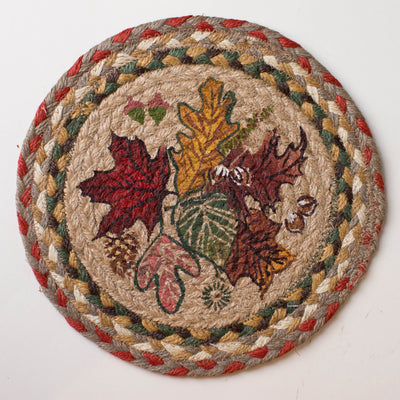 "Autumn Leaves 10"" Capitol Earth Mat"