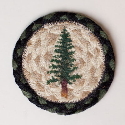 "Tall Timbers (Tree) Capitol Earth 5"" Coaster"