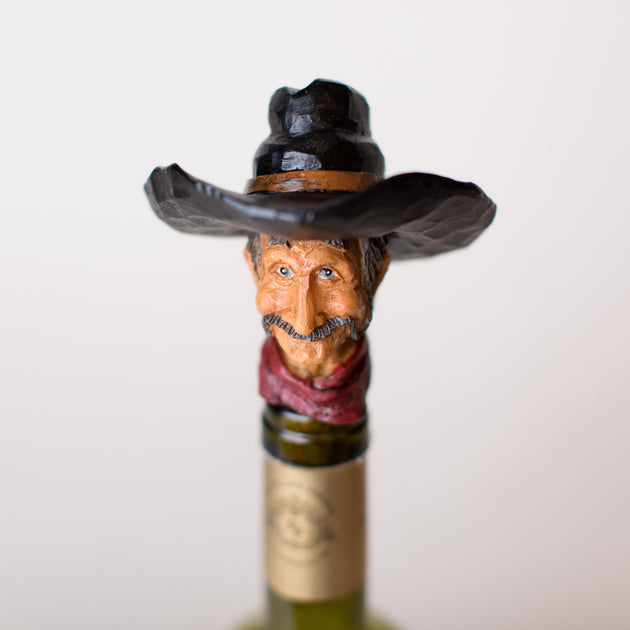 Amos Cowboy Wine Stopper