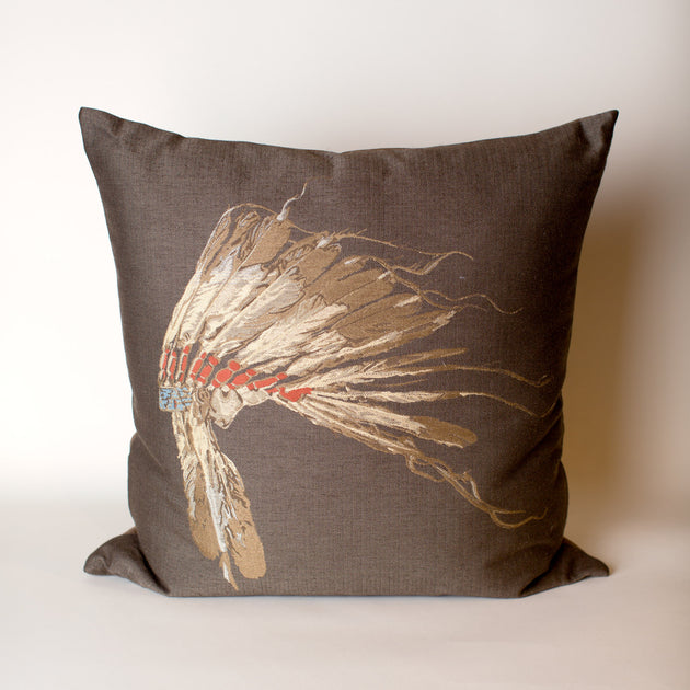 Chief Woodland Pillow
