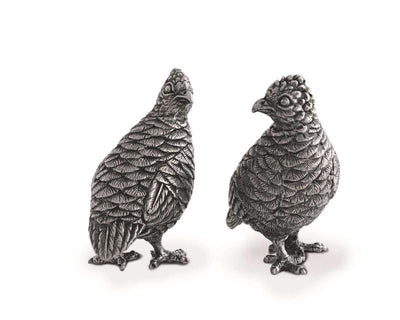 Standing Quail Salt and Pepper Shakers