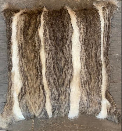 Vizcacha  Hide Fur Pillow
