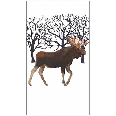 Winter Moose (Guest Towel)
