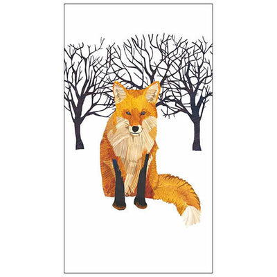 Winter Fox (Guest Towel)