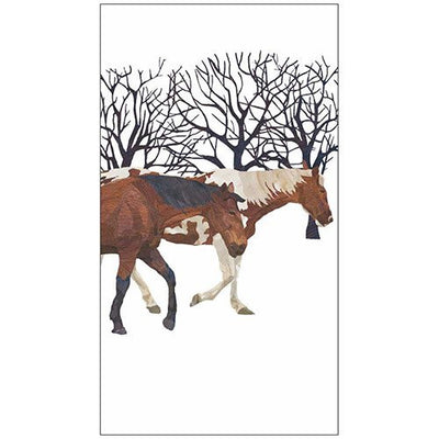 Winter Horses (Guest Towel)