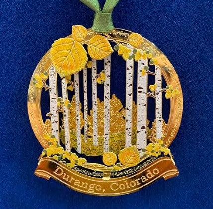 Durango Autumn Woods Ornament
