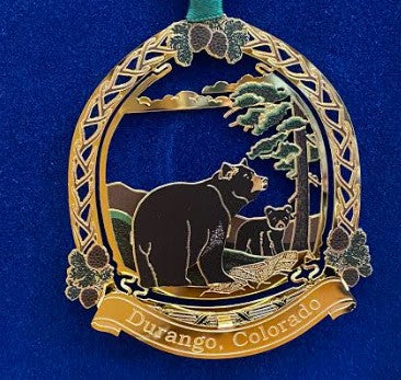 Durango Black Bear Ornament