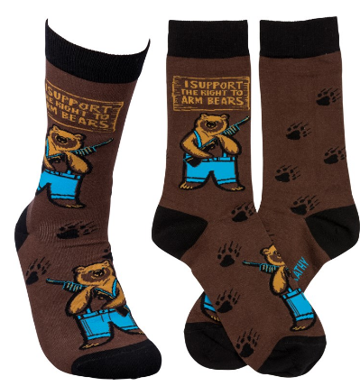 Arm Bears Socks