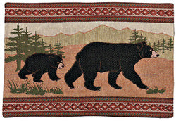 Black Bear Placemat (#11031)