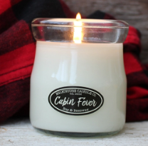Cabin Fever Cream Jar Candle