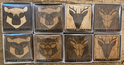 Puzzle Coaster Set of Two
