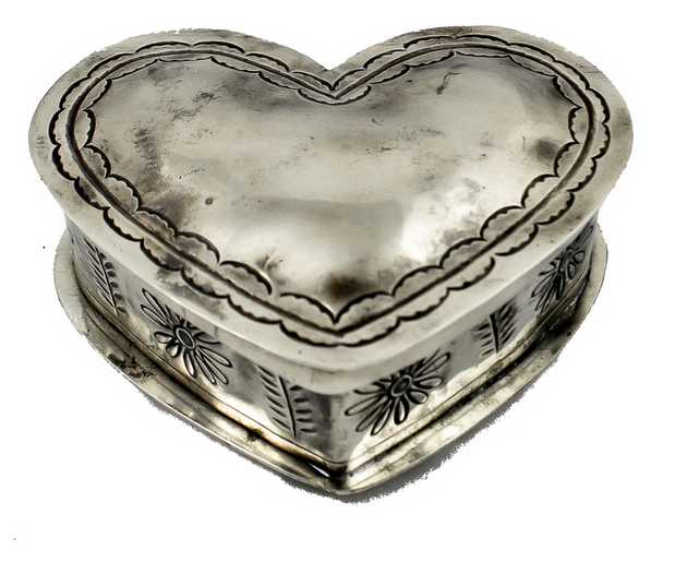 J. Alexander Stamped Corazon Box