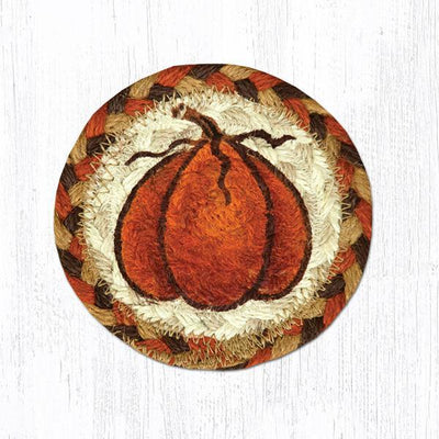 "Harvest Pumpkin Capitol Earth 5"" Coaster"