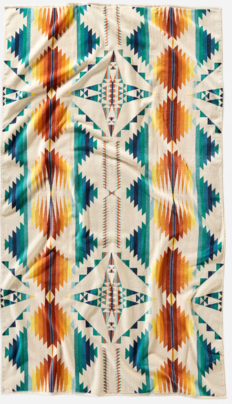 Falcon Cove Sunset Pendleton Spa Towel