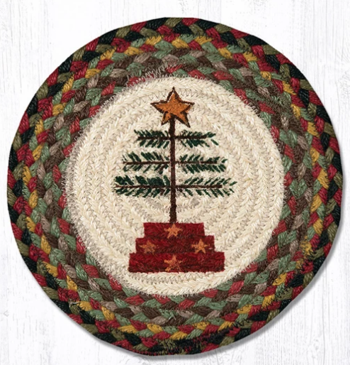 "Feather Tree 10"" Capitol Earth Mat"