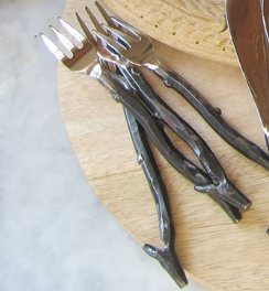 Rustic Twig Cocktail Forks (Set of 2)