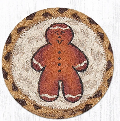 "Gingerbread Man Capitol Earth 5"" Coaster"