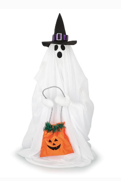 Animated Trick or Treat Ghost