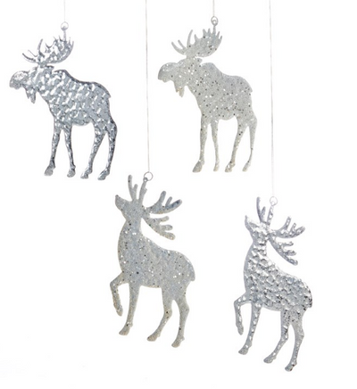 Metal and Glitter Deer/Moose