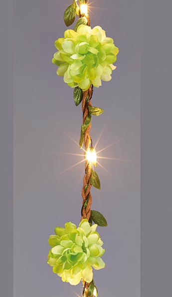 Flower LED Garland Light String