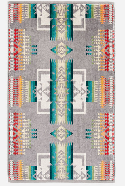 Chief Joseph Jacquard Hand Towel (Grey)