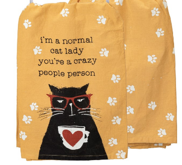 I'm A Normal Cat Lady Dish Towel