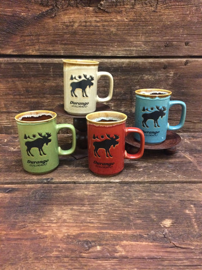 Durango Moose Ceramic Drip Coffee Mug