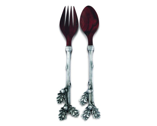 Oak Leaf Salad Servers