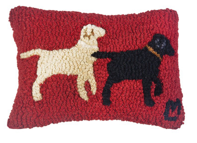 Lab Buddies Small Wool Pillow