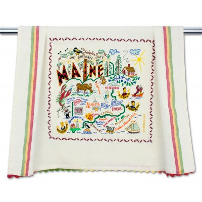 Maine Dish Towel