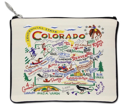 Colorado Zip Pouch