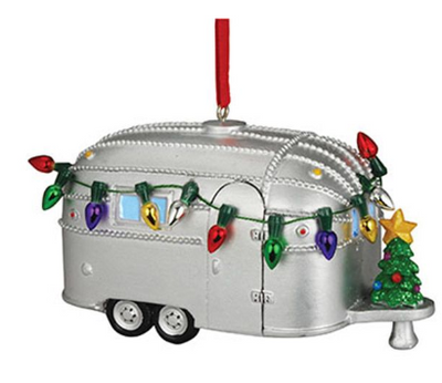 "Camper ""Light Up"" Ornament"